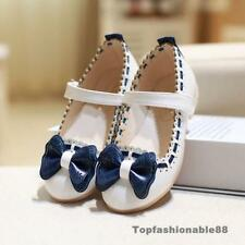 Kids girls princess shoes children flats dancing Wedding Flower girl shoes party