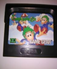 Lemmings (Sega Game Gear, 1992)Handheld Video Game Rodent Voles Copy Cat