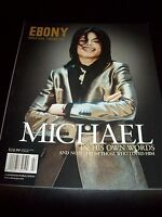 Michael Jackson Magazine Ebony Special Tribute 2009 MJ Thriller King Of Pop