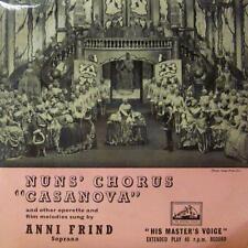 "Anni Frind(7"" Vinyl P/S)Nun's Chorus-HMV-7EG 8276-UK-VG/VG+"