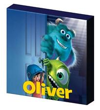 PERSONALISED MONSTERS INC CANVAS PICTURE