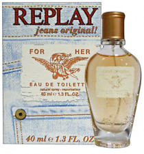 Replay Jeans Original! Woman Edt 40 ml SPRAY + FREE NECKLACE