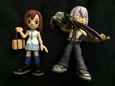 Funko Mystery Mini Kingdom Hearts KAIRI and RIKU WITH BLADE Figures Lot 2