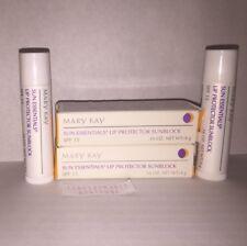 Mary Kay® Sun Essentials Lip Protector Sun Block SPF 15 Full Size New in Box