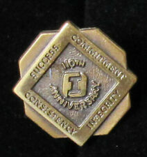 Vintage First Interstate Bank 110th Anniversary Employee Pin -A