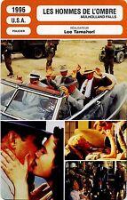 Movie Card. Fiche Cinéma. Les hommes de l'ombre / Mulholland falls (USA) 1996