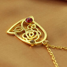 Beauty And The Beast Gold Rose Pendant Princess Belle Necklace Women Gift