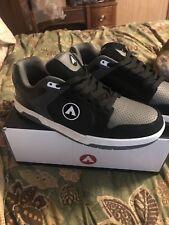 Airwalk Throttle Skate Shoes Size 11 Brand New Black & Gray Shoes