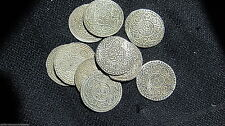"""1 - TIBET """"Ga-Den"""" TANGKA SACRED SILVER Coin FROM THE ROOF OF WORLD Buddhist"""