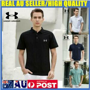 Brand New Under Armour Men UA Tech Short Sleeve Tee T-Shirt Top Polo t Shirt Top