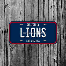 Loyola Marymount University Lions Los Angeles California License Plate