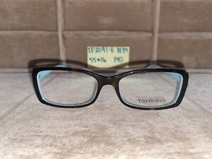 Tiffany & Co Black/Brown on Blue Eyeglasses TF2091-B 8134 5516 140 No Case