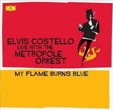 My Flame Burns Blue [LP] by Metropole Orkest/Elvis Costello (Vinyl, Jun-2016, 2 Discs, Deutsche Grammophon)