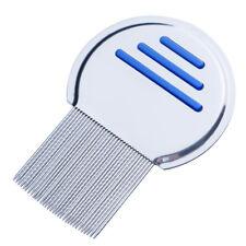 Cepillo Peine de Acero Inoxidable Para Remover Sacar Los Piojos de Niños Adultos