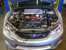 CXRacing Top Mount Intercooler Y Pipe For 11+ Subaru Impreza WRX STi 2012 Black