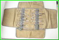 Antique Vintage Medical Surgical Lot of 14 Tools Instruments,Original Aesculap