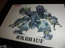 Metal Gear Solid Acid 2 limited edition Artwork Cell collectible toy
