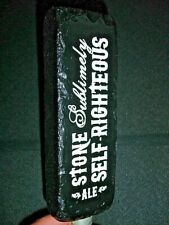 STONE - SUBLIMELY SELF-RIGHTEOUS ALE - BEER TAP HANDLE