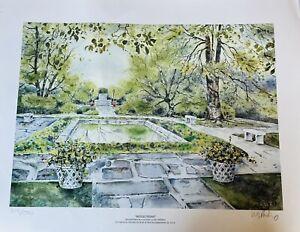 Fine Art Lithograph Reflections Baxter Perkinson Richmond Virginia 219/500 1997