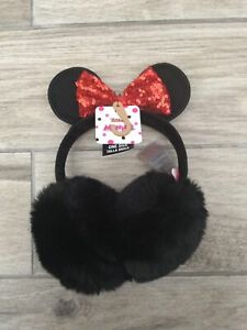 Girls Disney Minnie Mouse Ear Muffs New With Tags