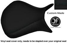 BLACK VINYL CUSTOM FITS KAWASAKI NINJA ZX6R 2007-2008 FRONT SEAT COVER ONLY