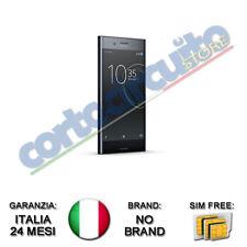 "SONY XPERIA XZ BLACK PREMIUM 5.5"" 4K HDR 64GB RAM 4GB 4G LTE NO BRAND ITALIA"