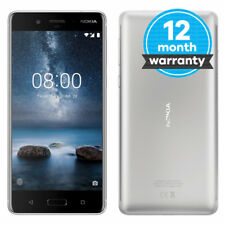 Nokia 8 - 64 GB - Steel (Unlocked) Smartphone Pristine (A)