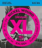 D'Addario EXL120+ Super Light Plus Electric Guitar Strings 9.5 -44