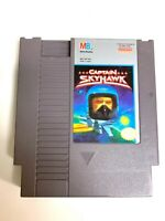 Captain Skyhawk ORIGINAL NINTENDO NES GAME Tested + WORKING & Authentic!