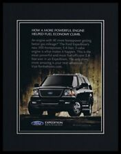 2006 Ford Expedition Framed 11x14 ORIGINAL Vintage Advertisement