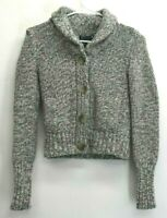 American Eagle Outfitters Womens XS Wool Blend Button Front Knitted Sweater