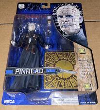 Pinhead Action Figure Hellraiser Series 1 Reel Toys NECA 2003 Unopen Horror