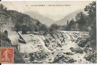 CPA 09 - AX-LES-THERMES - Chute de L'Ariège au Castele