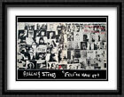 Rolling Stones, exile on main street 2x Matted 40x28 Framed Art by Robert Frank