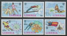 Liberia - 1976, Winter Olympic Games set - CTO - SG 1260/5 (e)