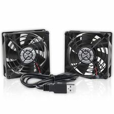 Eluteng Cooling Fan 80mm Small USB High Quality Computer Easily Cool Your Device