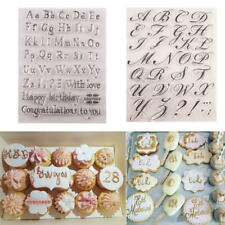 Letter Alphabet Embosser Stamp Cake Decorating Baking Bakeware Letters Tool