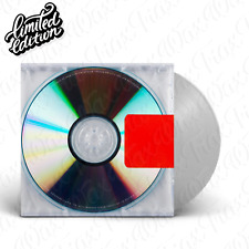 Kanye West - Yeezus [1LP] Vinyl Ltd Edition USA Seller Sealed New Clear/Black