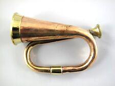 Posthorn Trompete Kupfer & Messing Tröte Fanfare Brass Noisemaker Messinghorn