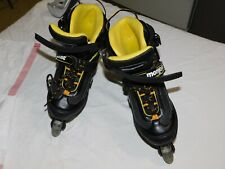 Mongoose Youth Roller Blades/Inline Skates Black & Yellow Size 5-8