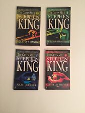 Stephen King The Green Mile Parts 3,4,5,6 1st Edition Printing Paperback 1996