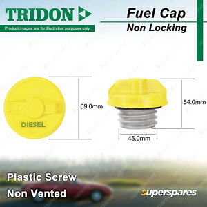 Tridon Non Locking Fuel Cap for Kia Pregio CT Sorento BL JC XM Sportage KM