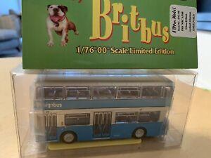 RARE BRITBUS 1/76 no.AN2-05 LEYLAND ATLANTEAN ENSIGN BUS PRV 165 HAVERING MIB