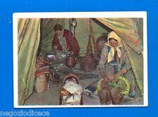 LA TERRA - Panini 1966 - Figurina-Sticker n. 256 - U.R.S.S. TENDA SIBERIANI -New