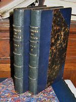 Oeuvres de Horace, LEMERRE, RELIURE Marmin, Maroquin, EX Libris DE BARRAL 1873