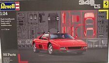 Revell 1/24 1989 Ferrari 348TS Sports Car NModel Kit 7254