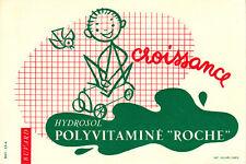 Buvard   Hydrosol  Laboratoire Roche