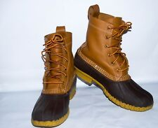 """Bean Boots by L.L. Bean, 8"""" Women's US size 7, UK 5, Eur 38. Made in USA"""