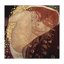 Gustav Klimt, Danae Deco FRIDGE MAGNET, 1907 Fine Art Repro Greek Mini Gift