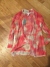Chico's Size 1 Summer Sweater.